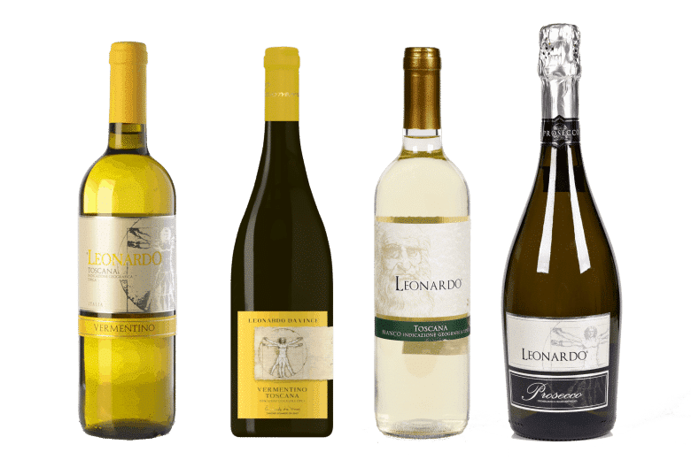 leonardo biele vína