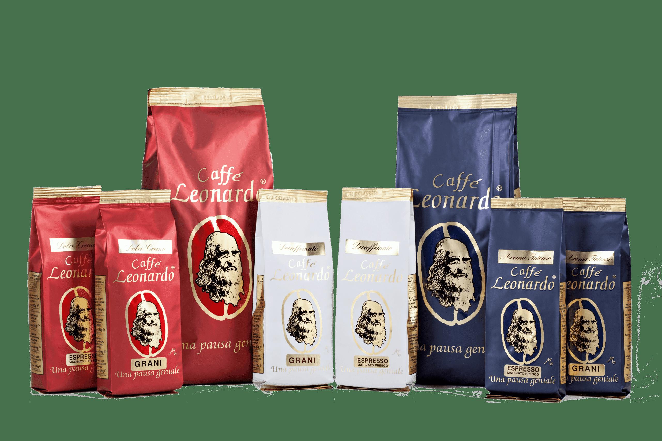 káva leonardo